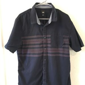 VANS button down shirt, XL